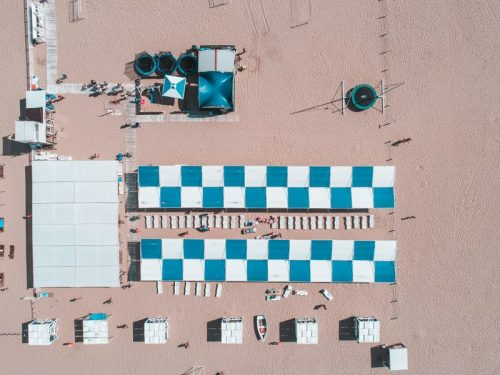 Пляжные навесы в Анапе продукция завода Светозар-02